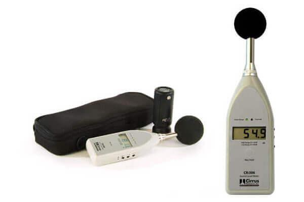 Schallpegelmesstechnik CR 306