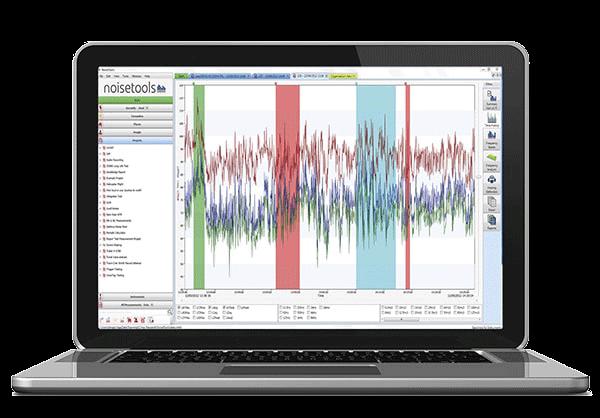 Schallmessgeräte mit Analyse-Software