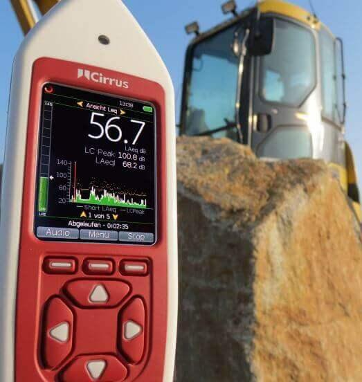 Optimus Green Schallpegelmesser für Umgebungslärm