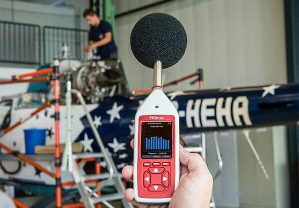 Optimus Red Schallpegelmessgerät für Lärmmessung am Arbeitsplatz