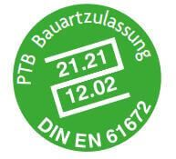 PTB Bauartzulassung DIN EN 61672