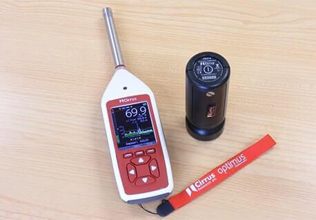 Schallpegelmessgerät Klasse 1