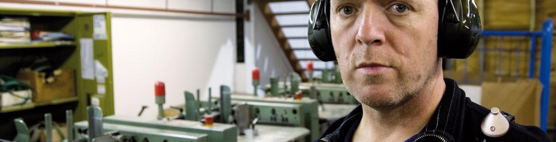 Dosebadge Personenlärmdosimeter für betriebliche Lärmmessung