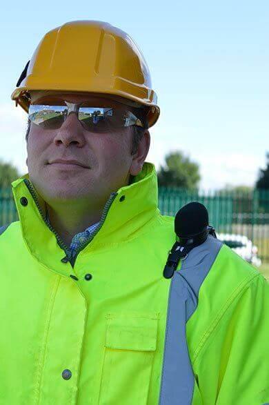 doseBadge 5 Lärmdosimeter für Arbeitsplatz-Lärmmessung