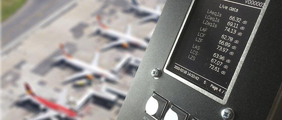 Lärmmessung Flughafen