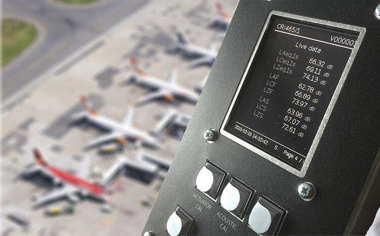 Lärmüberwachungssyteme Flugplatz