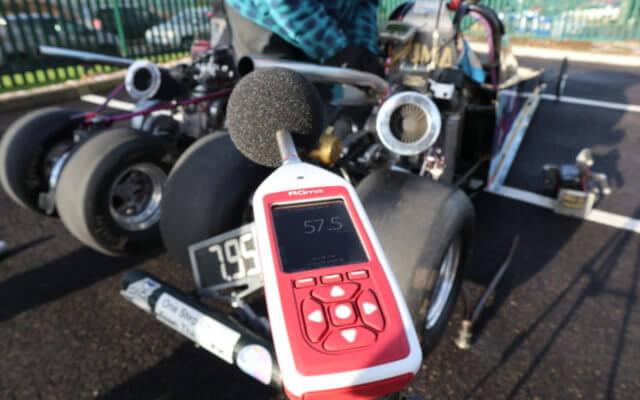 Lärm messen Motorsport