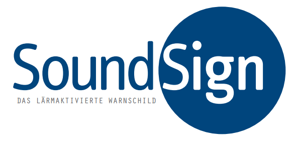 Soundsign Lärmwarnsystem Logo