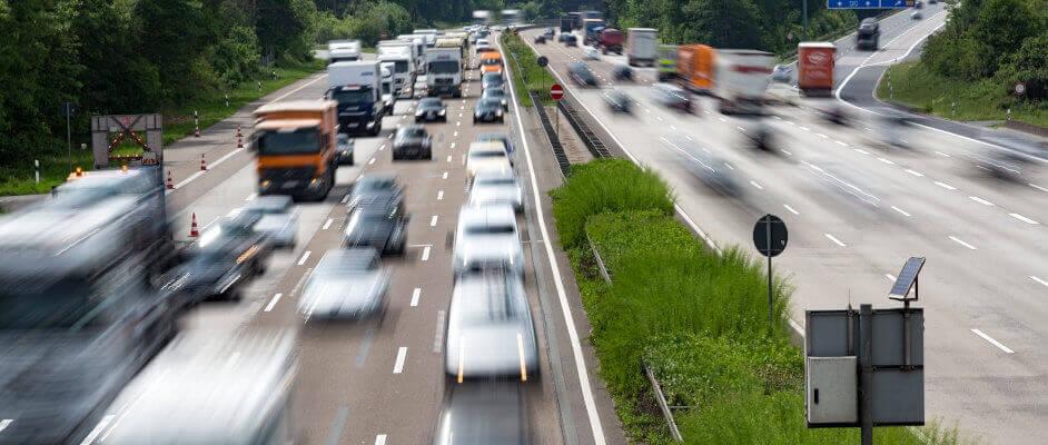 Umgebungslärm Autobahn