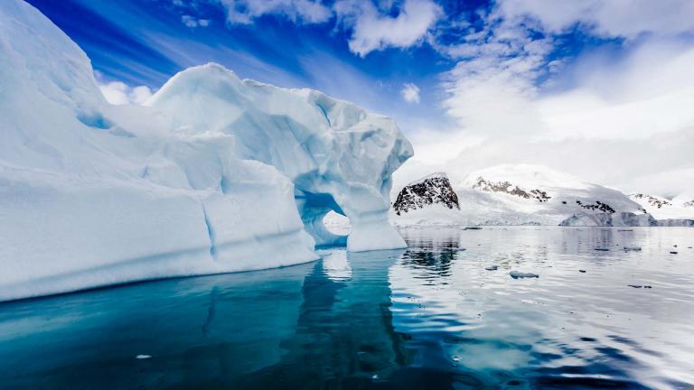 Der gefrorene Kontinent